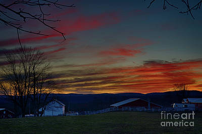 Photograph - Sundown In The Country by Nicki McManus