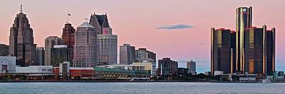 Photograph - Sundown In The Motor City by Frozen in Time Fine Art Photography