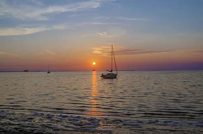 Bay Photograph - Sundown In The Tropics by Bill Cannon