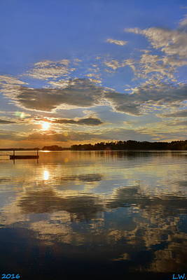 Photograph - Sundown by Lisa Wooten