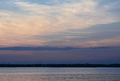 Photograph - Sundown On Bay by Cathy Jourdan