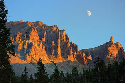 Photograph - Sundown On Jeff Davis Peak by Greg Norrell
