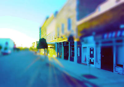 Photograph - Sundown On Main Street by Jan W Faul