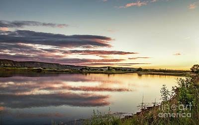 Photograph - Sundown On Sawyer by Robert Bales