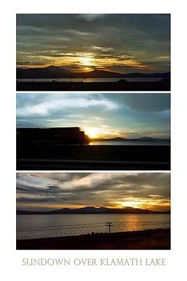 Photograph - Sundown Over Klamath Lake by Patricia Strand
