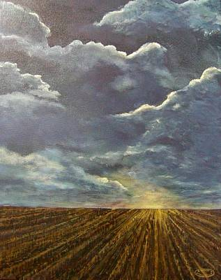 Painting - Sundown by Sharon Steinhaus