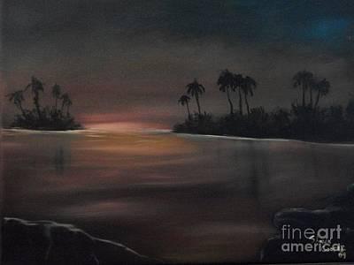 Sundown Art Print by Shawn Cooper