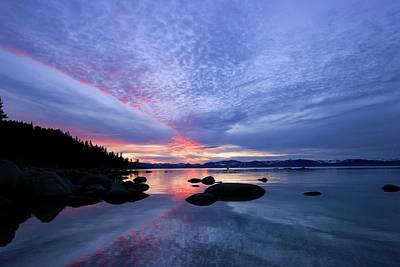 Photograph - Sundown Silhouette by Sean Sarsfield