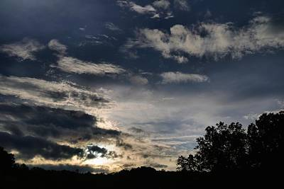 Photograph - Sundown Skies by Kathryn Meyer