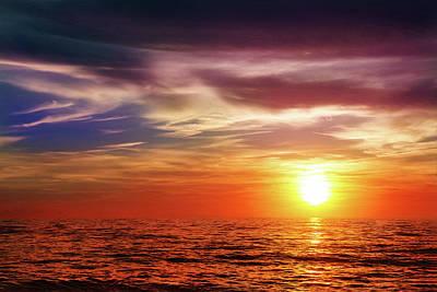 Sundown Symphony Art Print