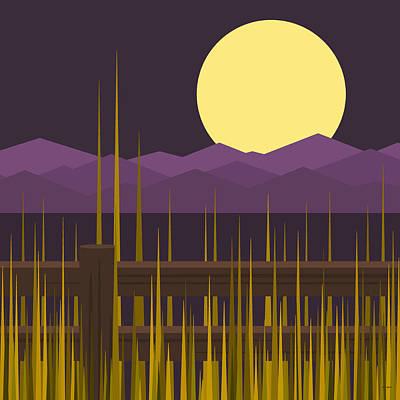 Digital Art - Sundown by Val Arie
