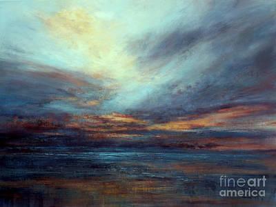 Painting - Sundown by Valerie Travers