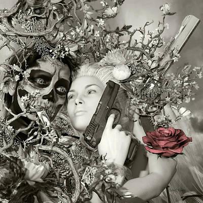 Deliverance Digital Art - Sundowner by Betsy Knapp