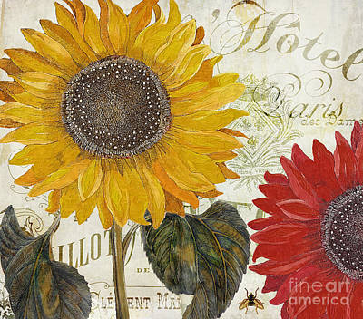 Sunflower Painting - Sundresses by Mindy Sommers