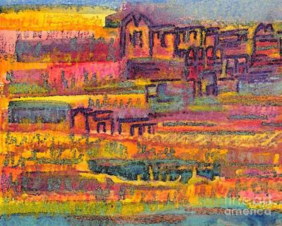 Sunset Vines Original by Angela Maher