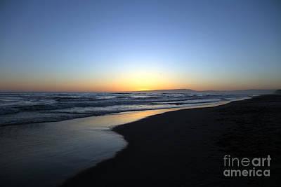 Amand Abarcon Photograph - Sunet Beach by Amanda Barcon