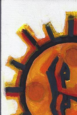 Painting - Sunface Rising by Chuck Snyder