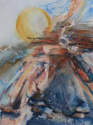 Painting - Sunfather I Greet You by Tara Moorman
