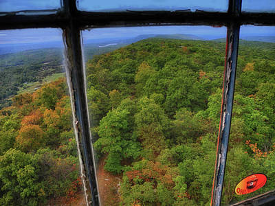 Photograph - Sunfish Fire Tower 3 by Raymond Salani III