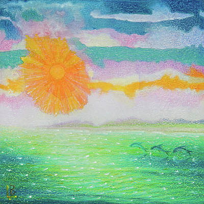 Painting - Sunflare by Lynn Bywaters