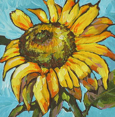 Painting - Sunflower 3 by Sandy Tracey