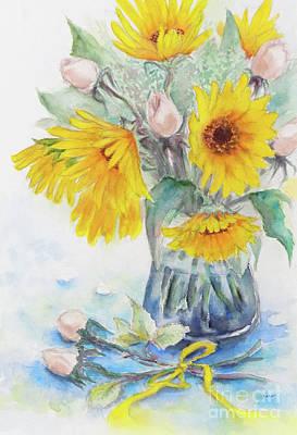 Sunflower-4 Art Print