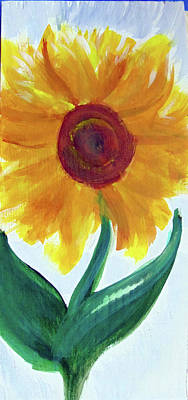 Painting - Sunflower 89 by Loretta Nash