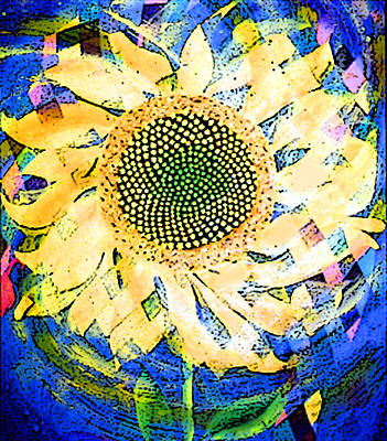 Painting - Sunflower by Anne Cameron Cutri
