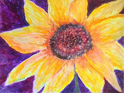 Painting - Sunflower by Anne Sands