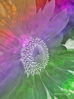 Digital Art - Sunflower Art by Maria Urso