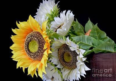 Photograph - Sunflower Bouquet by Jeannie Rhode