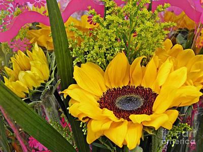 Photograph - Sunflower Bouquet by Sarah Loft