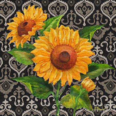 Sunflower Painting - Sunflower Chic II by Paul Brent