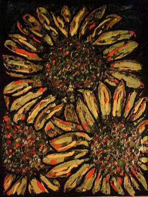 Mixed Media - Sunflower by David Sutter