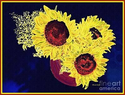 Photograph - Sunflower Decor 11 by Sarah Loft