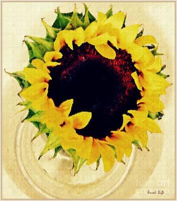 Photograph - Sunflower Decor 2 by Sarah Loft