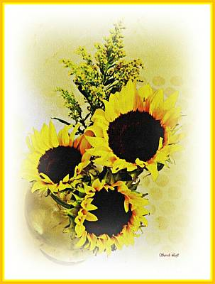 Photograph - Sunflower Decor 4 by Sarah Loft