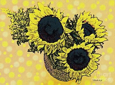 Photograph - Sunflower Decor 5 by Sarah Loft