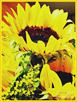 Photograph - Sunflower Decor 7 by Sarah Loft