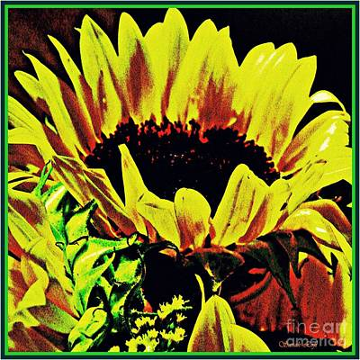 Photograph - Sunflower Decor 8 by Sarah Loft