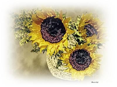 Photograph - Sunflower Decor 9 by Sarah Loft