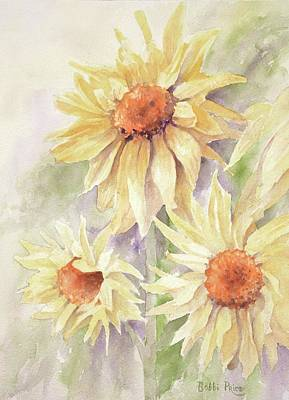 Painting - Sunflower Dreams by Bobbi Price