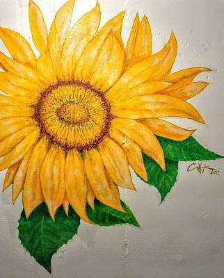 Painting - Sunflower by G Cuffia