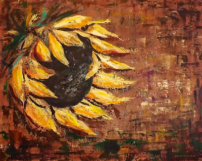 Painting - Sunflower by Gina De Gorna