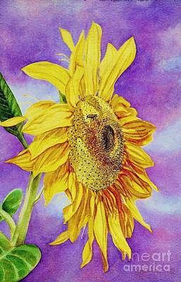 Sunflower Gold Art Print