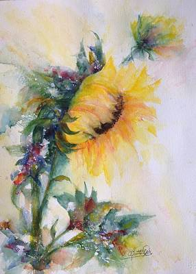 Painting - Sunflower Happy by Bette Orr