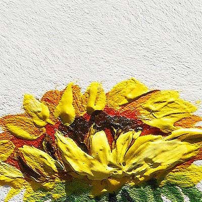 Sunflower Painting - Sunflower by Irina Sztukowski