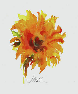 Painting - Sunflower by Jacki Kellum