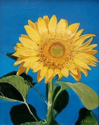 Painting - Sunflower by Jamie Frier