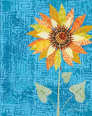 Mixed Media - Sunflower by Janyce Boynton